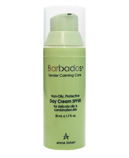 Anna Lotan Non-Oily Protective Day Cream SPF 50 — Легкий защитный дневной  крем для деликатной жирной комбинированной кожи, 8 800 333-03-45